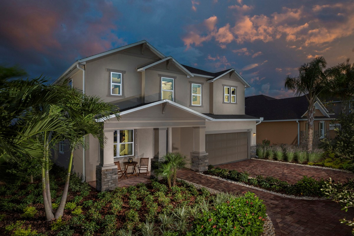 New Homes in Riverview, FL - Ibis Cove II at South Fork 3021 Exterior