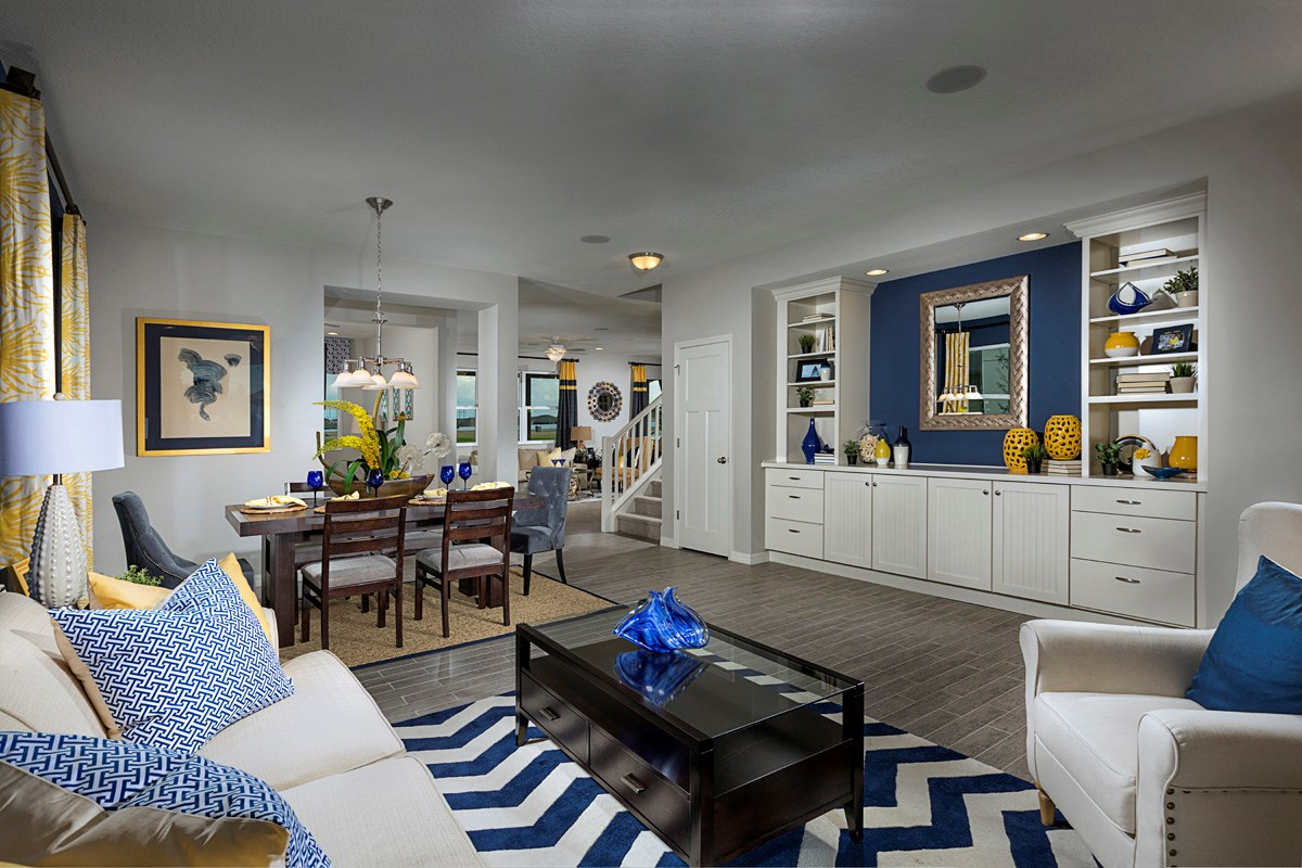 New Homes in Riverview, FL - Ibis Cove II at South Fork 3021 Formal Living & Dining Room