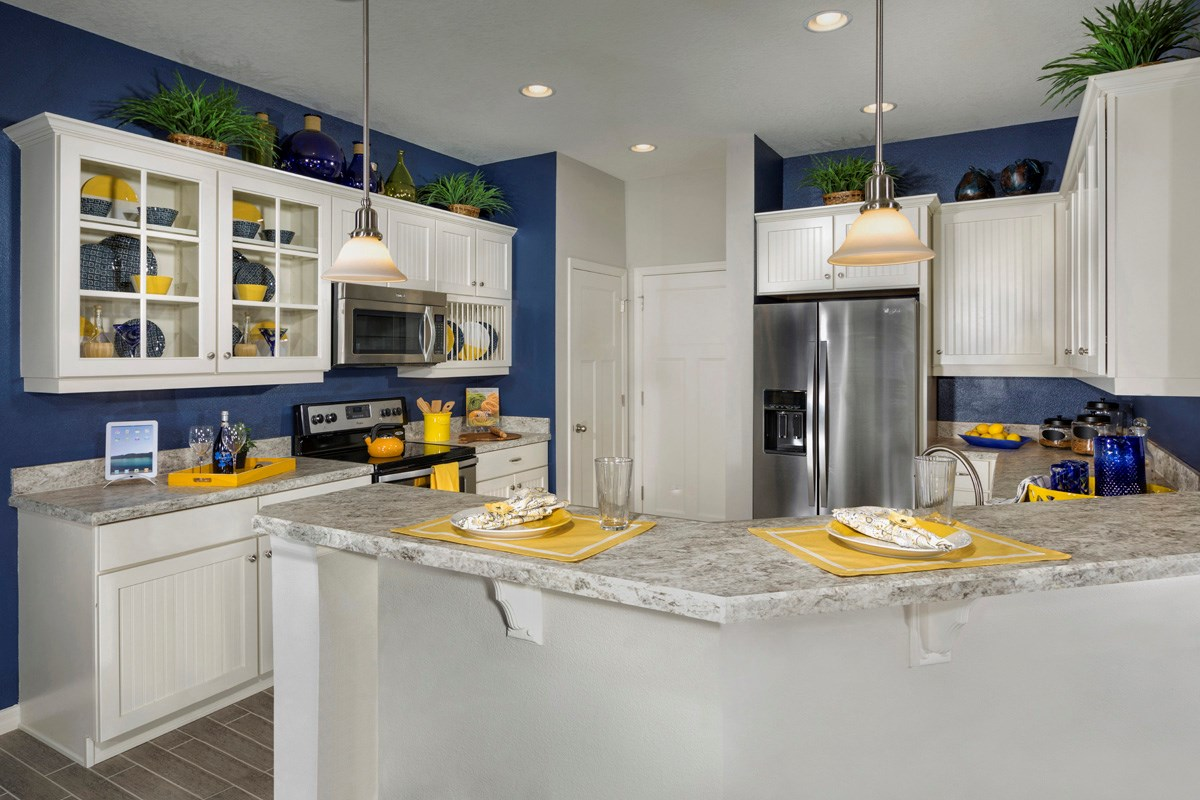New Homes in Riverview, FL - Ibis Cove II at South Fork 3021 Kitchen