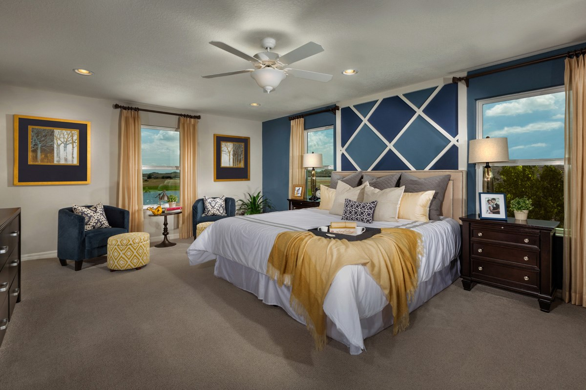 New Homes in Riverview, FL - Ibis Cove II at South Fork 3021 Master Suite