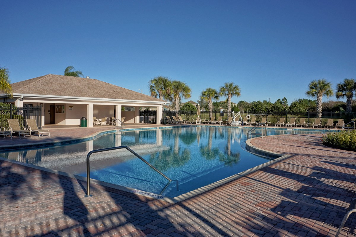 New Homes in Riverview, FL - Ibis Cove I at South Fork Community Pool