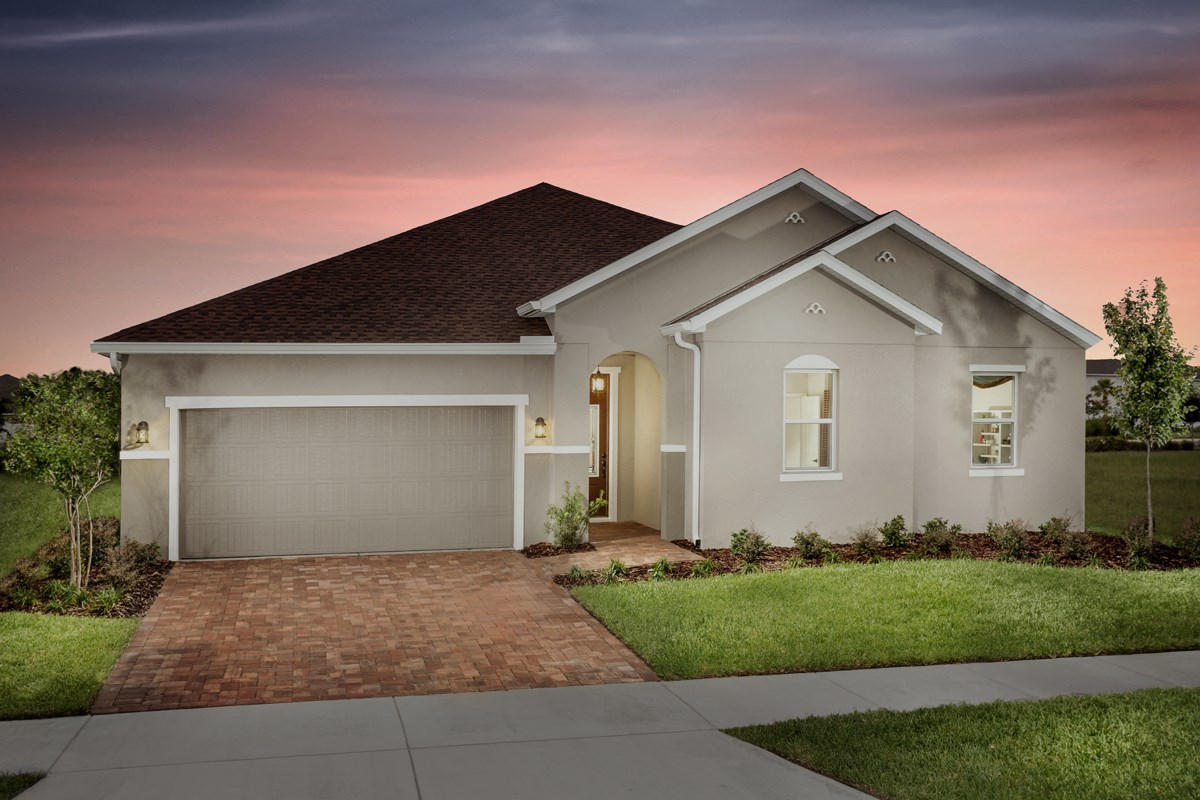 New Homes in Riverview, FL - Ibis Cove II at South Fork Plan 2620 Exterior