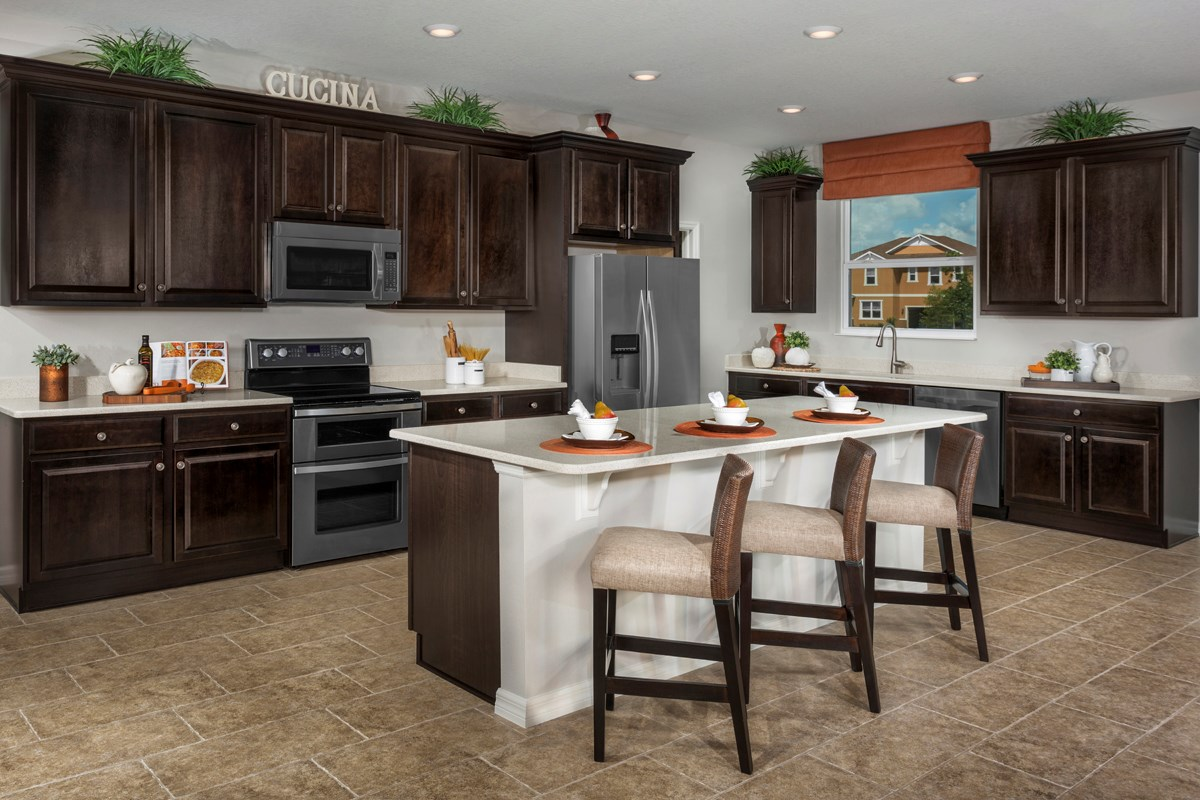 New Homes in Riverview, FL - Ibis Cove II at South Fork Plan 2620 Kitchen