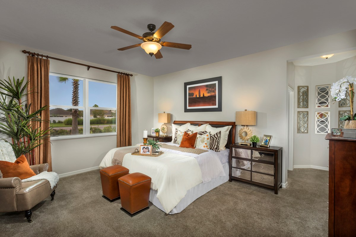 New Homes in Riverview, FL - Ibis Cove II at South Fork Plan 2620 Master Bedroom