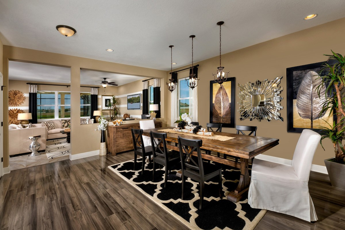 New Homes in Riverview, FL - Ibis Cove II at South Fork 3411 Formal Dining Room