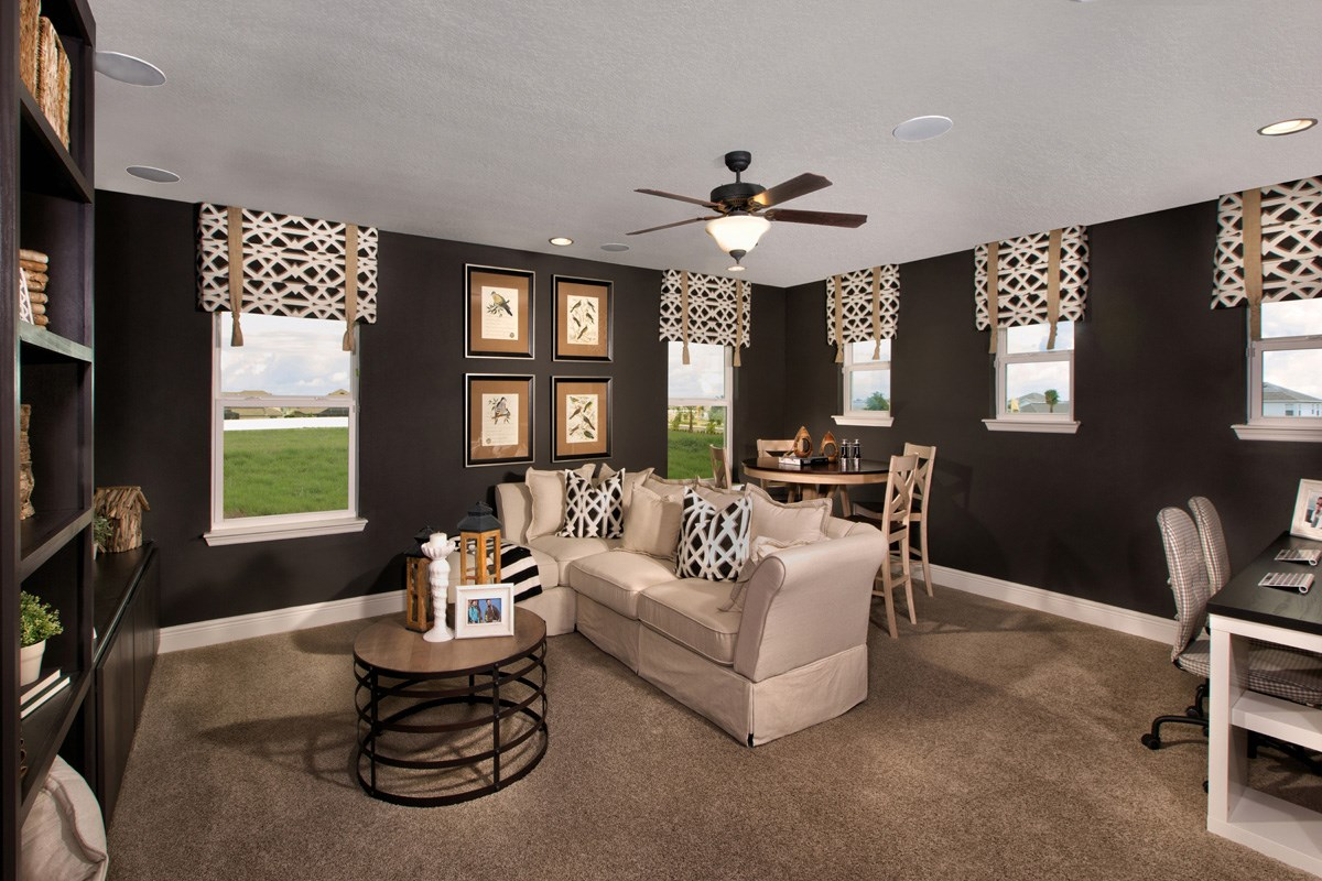 New Homes in Riverview, FL - Ibis Cove II at South Fork 3411 Loft