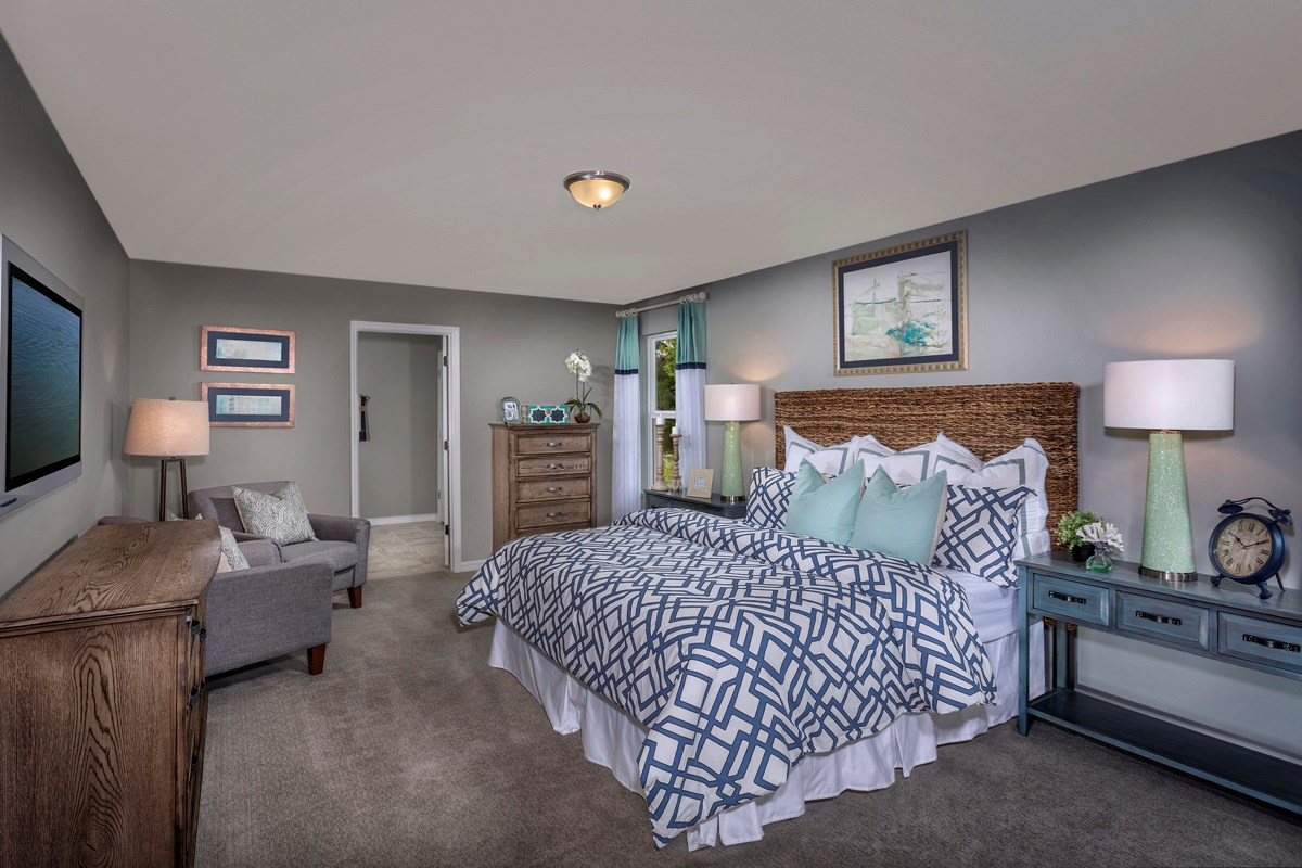 New Homes in Riverview, FL - Medford Lakes II Plan 2550 Master Bedroom