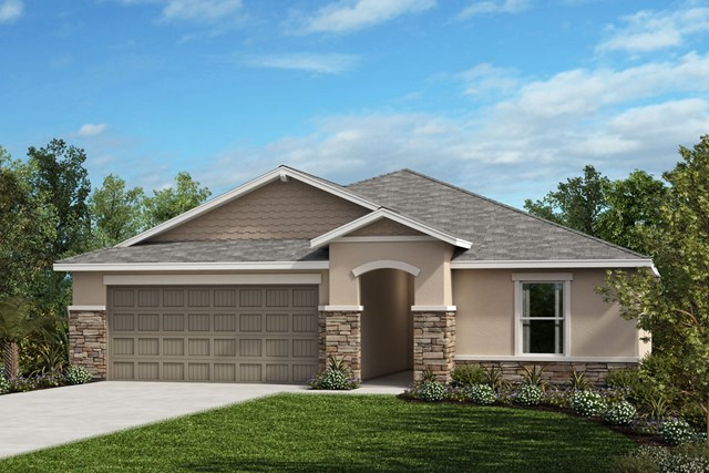 New Homes in Riverview, FL - Elevation H Stone