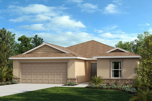 New Homes in Riverview, FL - Elevation F Stone