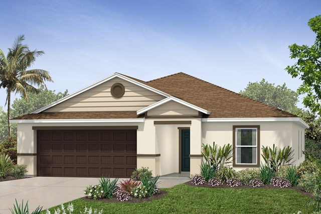New Homes in Riverview, FL - Elevation J