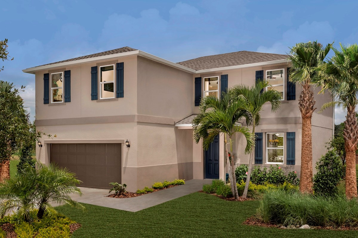 New Homes in Riverview, FL - Medford Lakes II Plan 2550 Exterior