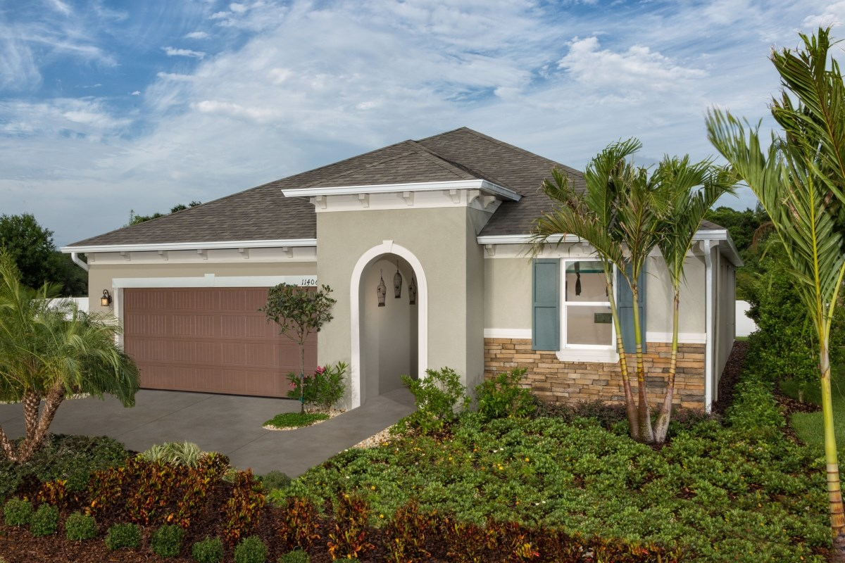 New Homes in Wimauma, FL - Mirabella Plan 2003 Exterior