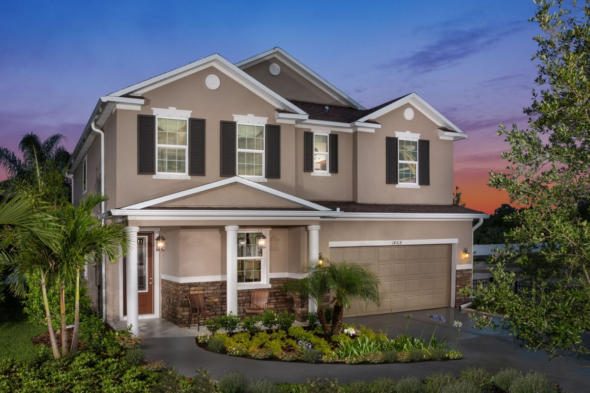 New Homes in Wimauma, FL - Mirabella Plan 2716 Exterior