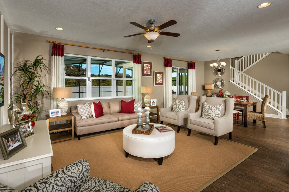 New Homes in Wimauma, FL - Mirabella 2716 Great Room