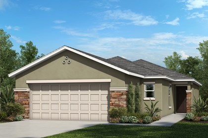 New Homes in Riverview, FL - Elevation C with Stone
