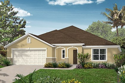 New Homes in Punta Gorda, FL - Elevation D