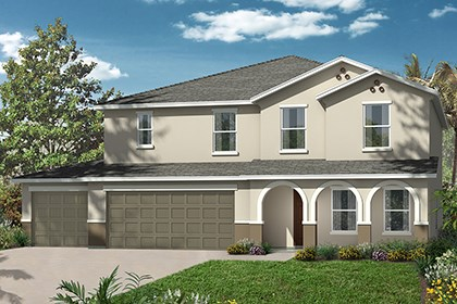 New Homes in Riverview, FL - Elevation B