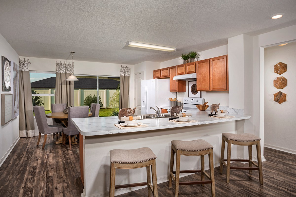 New Homes in Gibsonton, FL - Northgate 1346 Kitchen