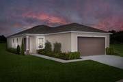 New Homes in Gibsonton, FL - Plan 1346 Modeled