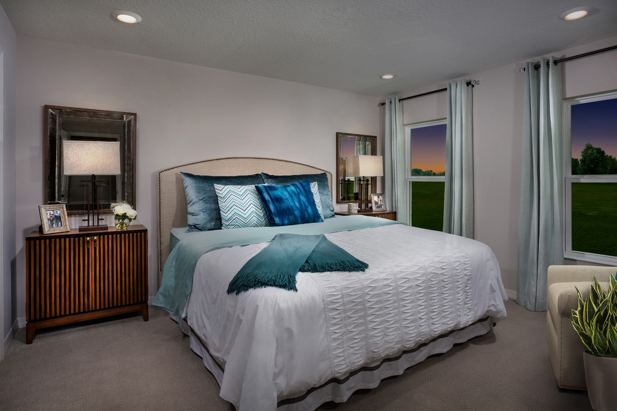 New Homes in Gibsonton, FL - Northgate 1637 Master Bedroom