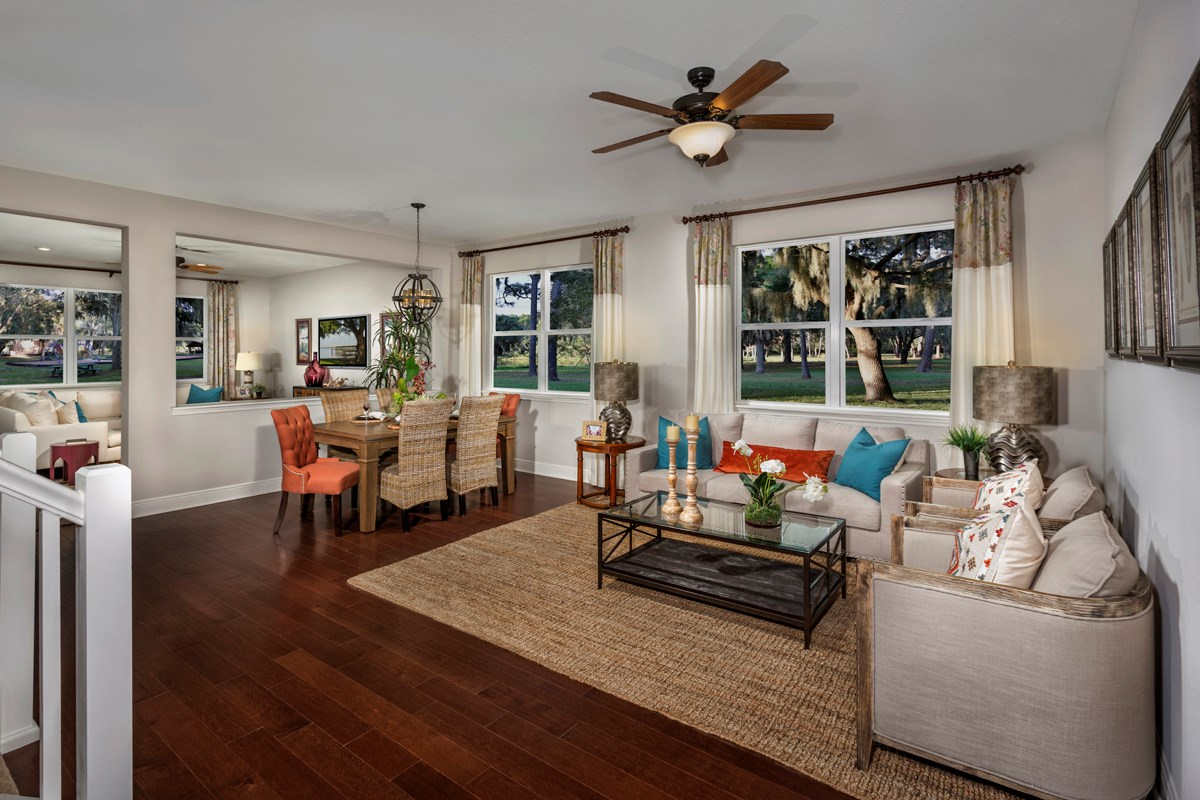 New Homes in Seminole, FL - Seminole Groves Plan 2851 Living and Dining Room