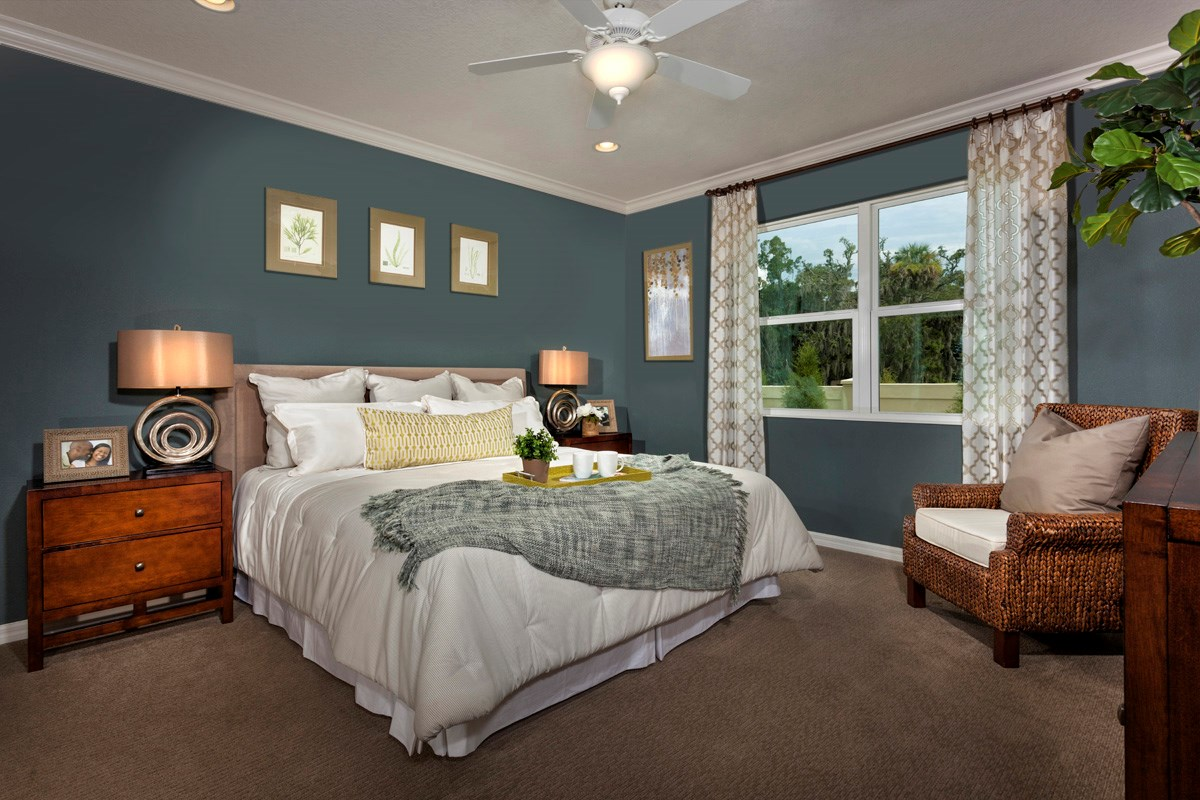 New Homes in Gibsonton, FL - Southgate Plan 1787 Master Bedroom