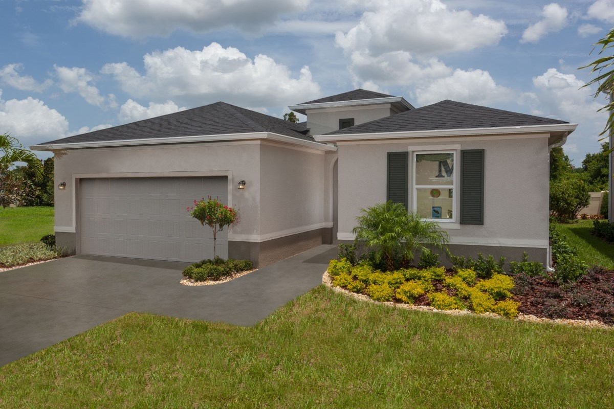 New Homes in Gibsonton, FL - Southgate Plan 1787 Exterior