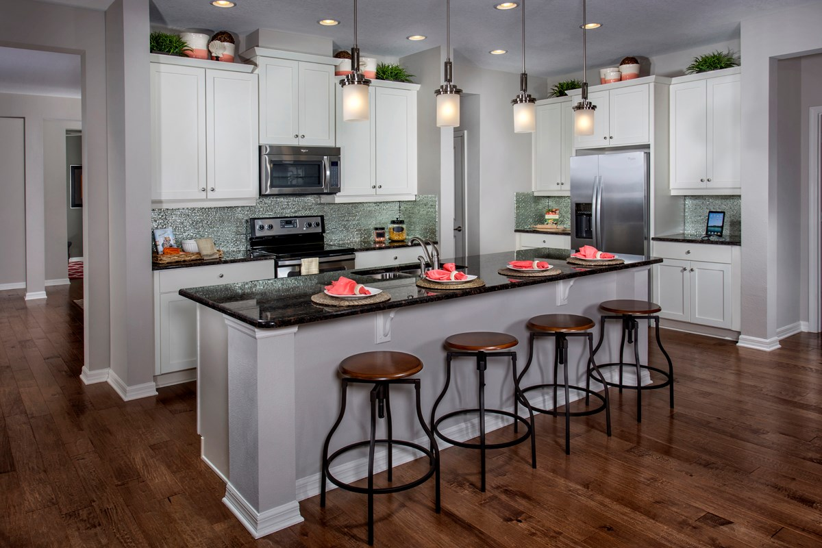 New Homes in Land O' Lakes, FL - The Woodlands Plan 2293 Kitchen