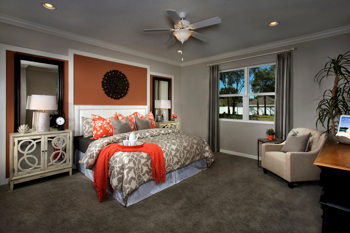 New Homes in Land O' Lakes, FL - The Woodlands Plan 2293 Master Bedroom