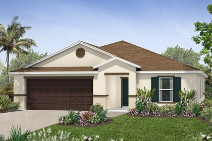 New Homes in Tampa, FL - Elevation B