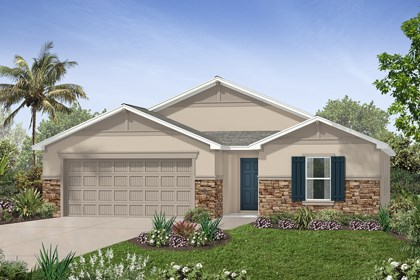 New Homes in Tampa, FL - Elevation F Stone