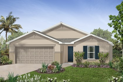 New Homes in Tampa, FL - Elevation F
