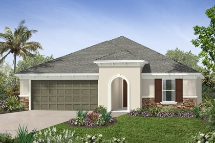 New Homes in Tampa, FL - Elevation G Stone
