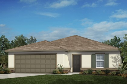 New Homes in Tampa, FL - Elevation A with Stone