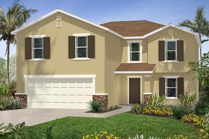New Homes in Tampa, FL - Elevation D Stone