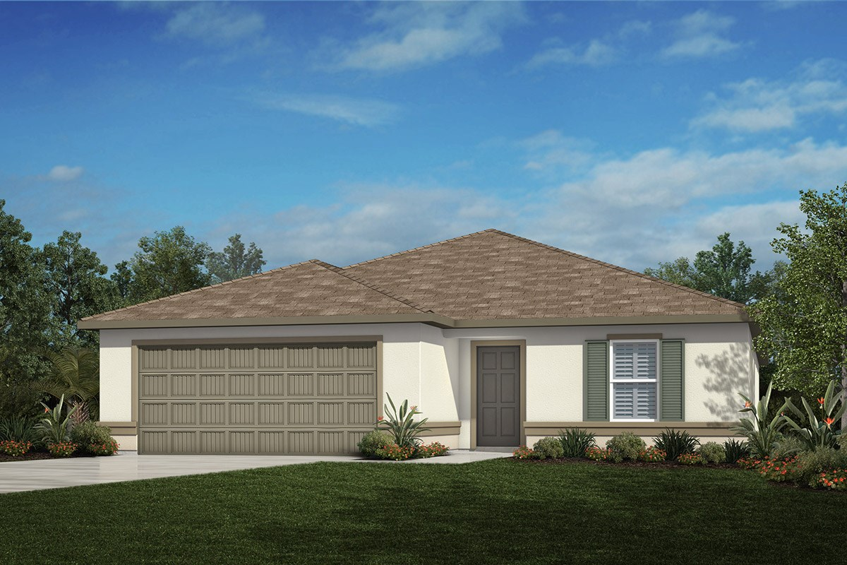 New Homes in Tampa, FL - West Lake Reserve Plan 2333 Elevation A
