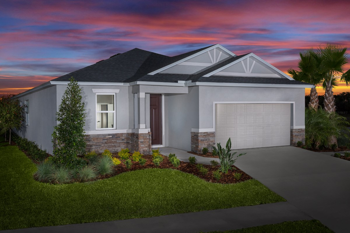 New Homes in Tampa, FL - West Lake Reserve Plan 2333 Elevation B