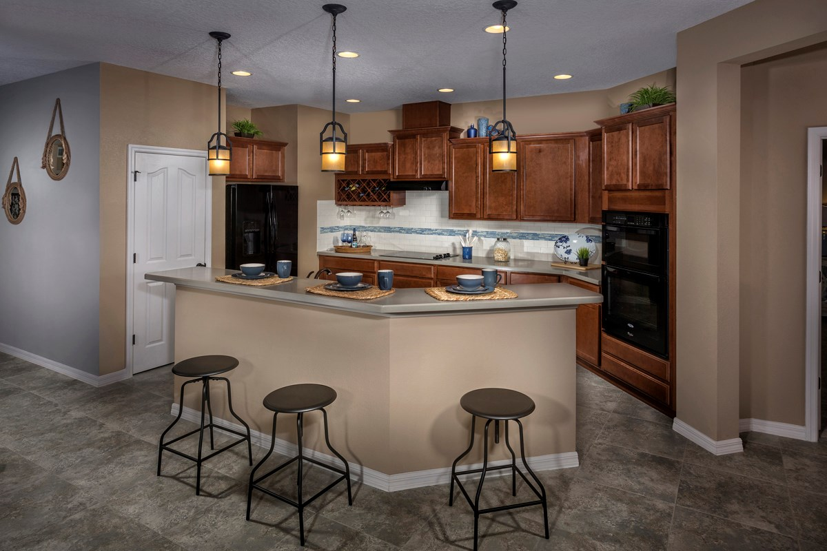 New Homes in Trinity, FL - Wild Fern Village at Trinity Lakes Plan 2003 Kitchen
