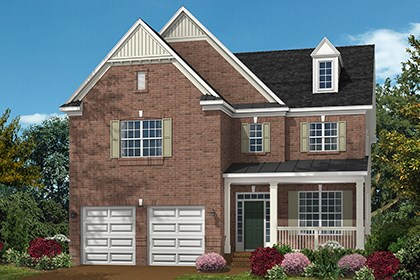 New Homes in Ellicott City, MD - The Amora - Elevation C