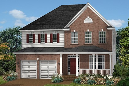 New Homes in Ellicott City, MD - The Marbella - Elevation C