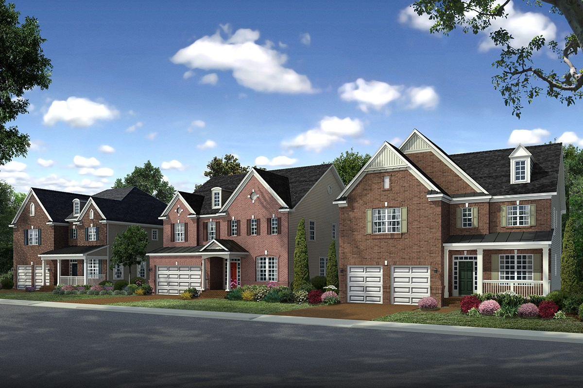 New Homes in Ellicott City, MD - Autumn Overlook Community Entrance