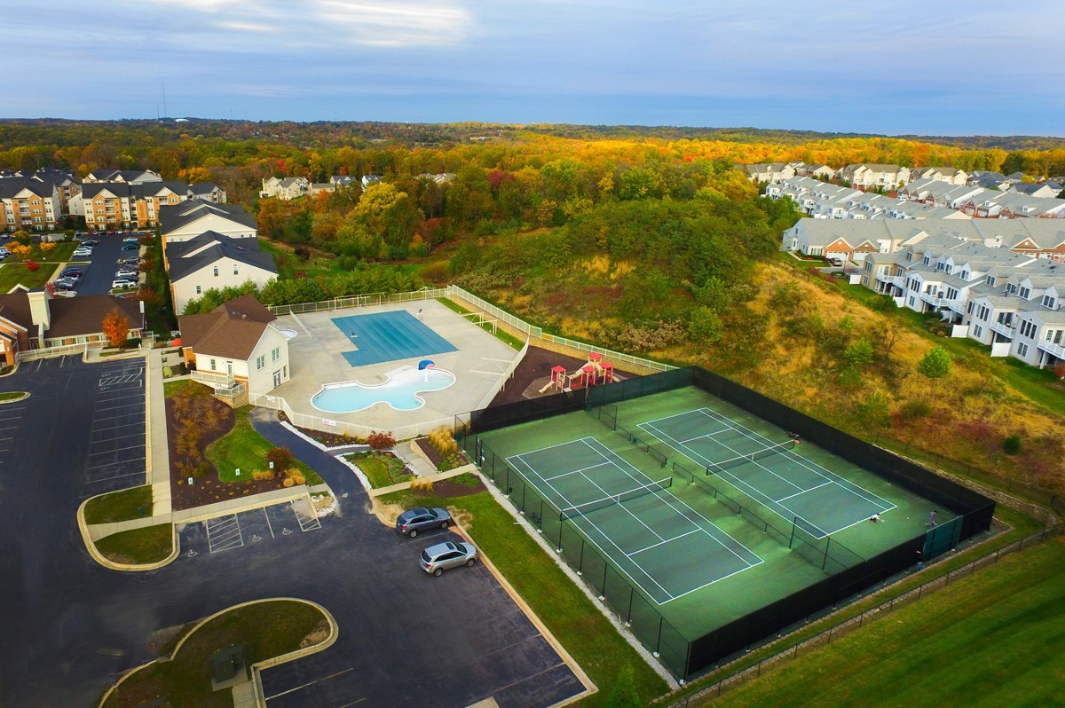New Homes in Ellicott City, MD - Autumn Overlook Amenities at Taylor Village