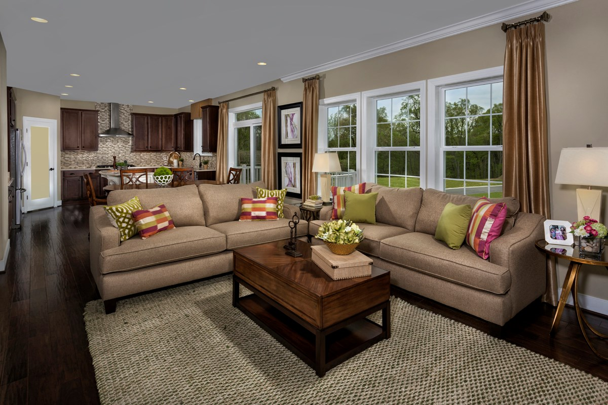 New Homes in Ellicott City, MD - Autumn Overlook Family Room