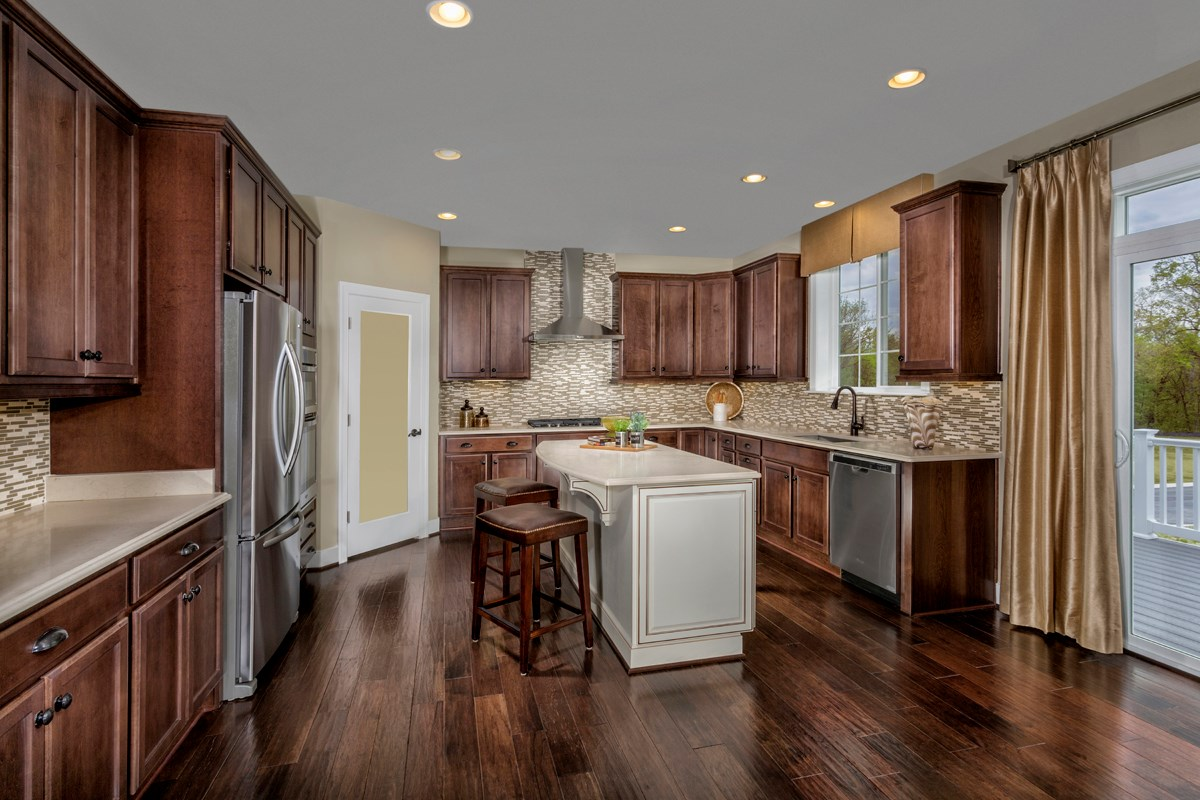 New Homes in Ellicott City, MD - Autumn Overlook Gourmet Kitchen