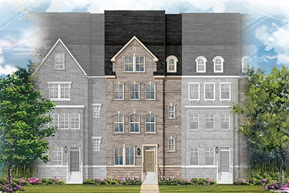 New Homes in Gaithersburg, MD - Midori Elevation B