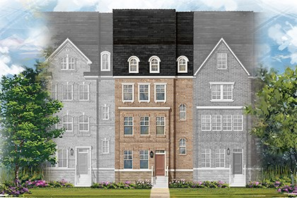 New Homes in Gaithersburg, MD - Midori Elevation C