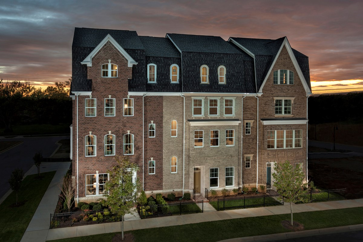 New Homes in Gaithersburg, MD - Crown 4-Story Townhomes