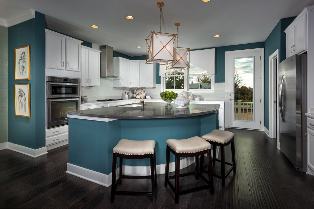 New Homes in Gaithersburg, MD - Crown Midori Kitchen