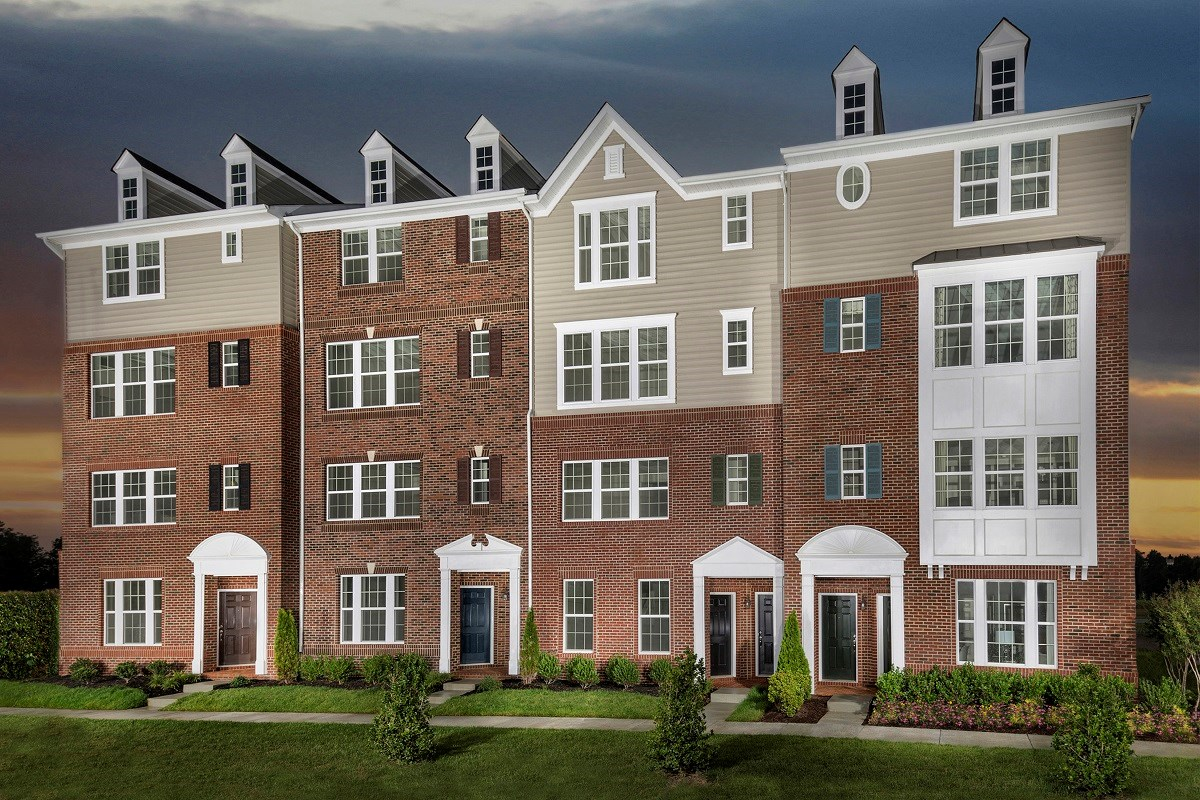 New Homes in Frederick, MD - Eastchurch Eastchurch Exterior, 10-Plex