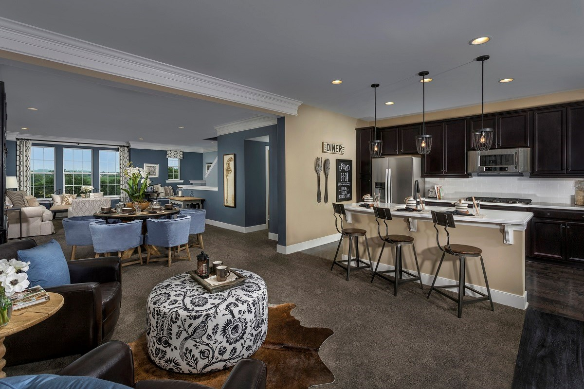 New Homes in Frederick, MD - Eastchurch Upton Kitchen and Nook